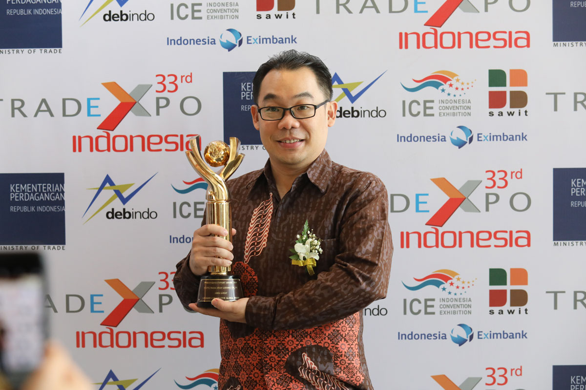 Achilles Radial Manufacturer Receives Indonesian Trade Honour